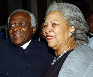 Archbishop Tutu meets author Toni Morrison
