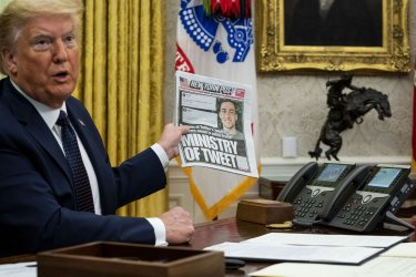 President Trump Signs an Executive Order on Social Media at the White House