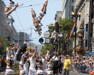 Annual LGBT Parade in San Francisco
