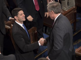 Speaker Ryan is reelected Speaker of the House in Washington, D.C.