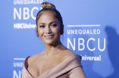 Jennifer Lopez at the 2017 NBCUniversal Upfront