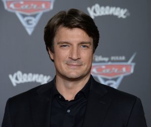 """Nathan Fillion attends the """"Cars 3"""" premiere in Anaheim, California"""