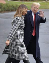 President Trump departs White House for visit to Paris, France