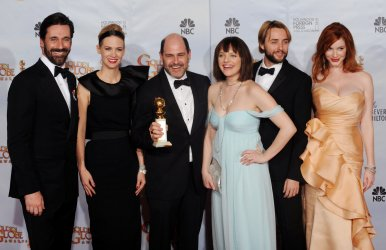 """""""Mad Men"""" garners award at the 67th annual Golden Globe Awards in Beverly Hills"""