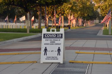 Spectators Barred From Memorial Day Observance Due to Coronavirus Outbreak in Los Angeles