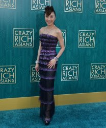 """Michelle Yeoh attends the """"Crazy Rich Asians"""" premiere in Los Angeles"""
