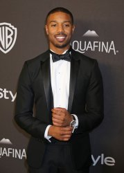 Michael B. Jordan attends the InStyle and Warner Bros. Golden Globe after-party in Beverly Hills