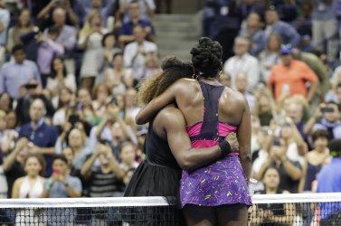 Serena Williams and Venus Williams at the US Open