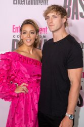 Chloe Bennet and Logan Paul attends Entertainment Weekly's Comic-Con celebration party in San Diego, California