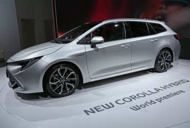 Toyota Corolla Hybrid Hatchback world premiere at the Paris Motor Show
