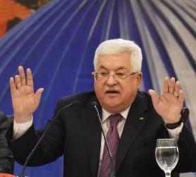 Palestinian President Mahmoud Abbas Responds To Trump Peace Plan