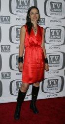 Justine Bateman arrives for the TV Land Awards in New York