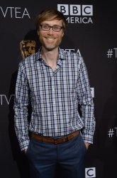 Stephen Merchant attends annual BAFTA LA Tea in Los Angeles