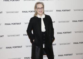 Meryl Streep at the 'Final Portrait' New York Screening