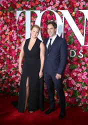 Amy Schumer and Chris Fischer arrive at the Tony Awards