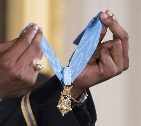 President Trump Awards Medal of Honor to Army Medic James McCloughan