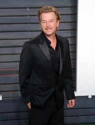 David Spade arrives at the Vanity Fair Oscar Party in Beverly Hills
