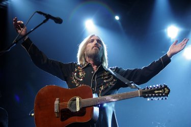 Tom Petty concert at Madison Square Garden in New York