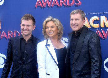 Chase Chrisley, Julie Chrisley, and Todd Chrisley attend the 53rd annual Academy of Country Music Awards in Las Vegas