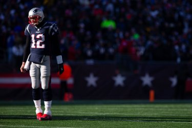 Patriots Brady against Chargers