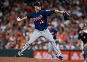 Twins starting pitcher Jake Odorizzi