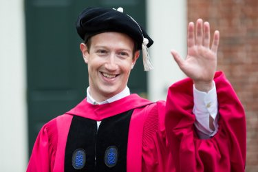 Mark Zuckerberg at Harvard Commencement