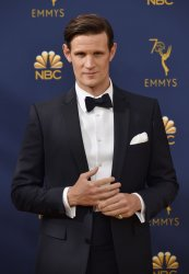 Matt Smith attends the 70th annual Primetime Emmy Awards in Los Angeles