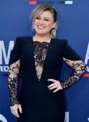 Kelly Clarkson attends the Academy of Country Music Awards in Las Vegas