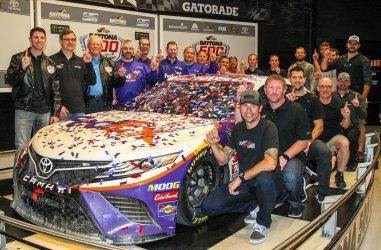 Denny Hamlin Wins Daytona 500