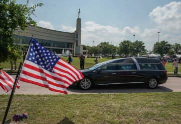 Funeral for George Floyd in Houston, Texas