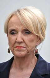 Arizona Governor Jan Brewer speaks after meeting with President Obama in Washington