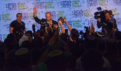 Naftali Bennett Celebrates Election Results