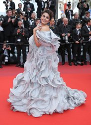 Huma Qureshi attends the Cannes Film Festival
