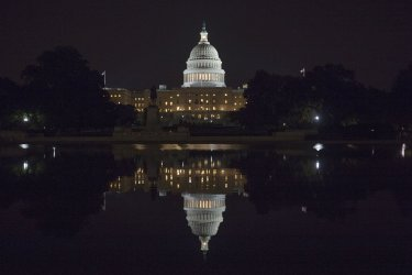 The U.S. Capitol in Washington, DC