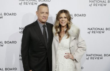 Tom Hanks arrives at The National Board of Review in New York