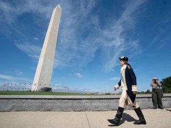 The Washington Monument reopens