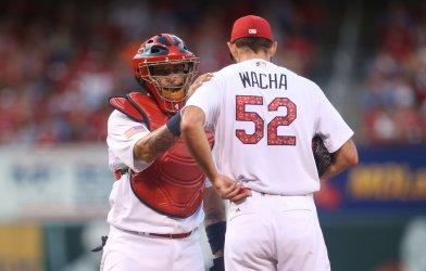St. Louis Cardinals pitcher Michael Wacha