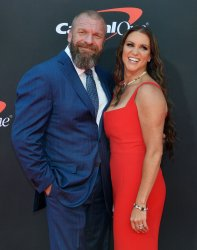 Triple H and Stephanie McMahon attend the 27th annual ESPY Awards in Los Angeles
