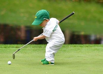 Par 3 Contest prior to the Masters in Augusta, Georgia