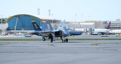 Media Day at the Fort Lauderdale Air Show in Florida