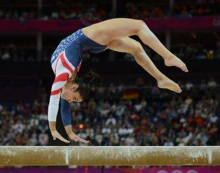 Women's Gymnastics Balance Beam Apparatus Final at London Olympics