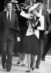 Princess Diana visits National Gallery of Art