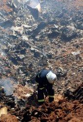 Iranian passenger plane crashes in Iran