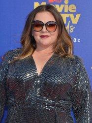 Melissa McCarthy attends the MTV Movie & TV Awards in Santa Monica, California