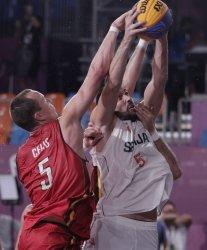 Mens 3X3 Basketball at Tokyo Olympics