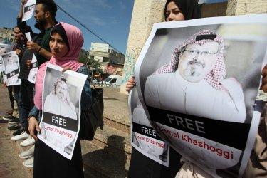 Protest Against Disappearance of Jamal Khashoggi