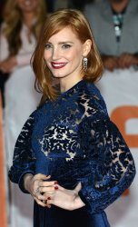 Jessica Chastain attends the world premiere of 'The Martian' at the Toronto International Film Festival
