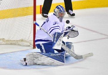 Toronto Maple Leafs goalie Frederik Andersen