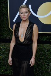 Kate Hudson attends the 75th annual Golden Globe Awards in Beverly Hills