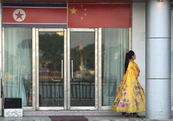 North Koreans work in Dandong